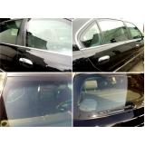 manutenção de vidros blindados para carros nacionais cotação Água Funda