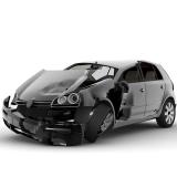 preço de funilaria para carros blindados Caieiras