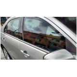 recuperação de vidro blindado carro 0km