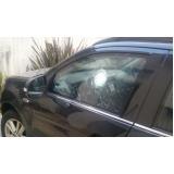 recuperação de vidro blindado de carro