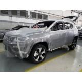 reparo de blindagem de pintura automotiva Suzano